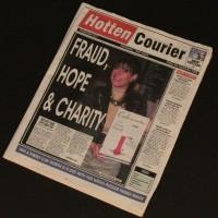 Hotten Courier newspaper