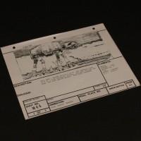 Brian Johnson personal storyboard - Walker & Speeders