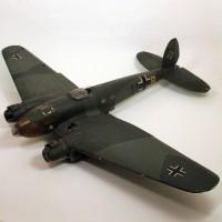 Heinkel He 111 filming miniature