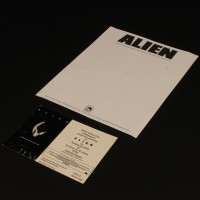 Production letterhead & advance screening ticket