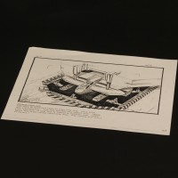 Production used storyboard - Dropship