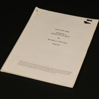 Production used script - Aliens of London
