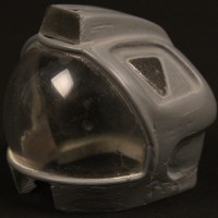 1:6 scale space helmet study maquette
