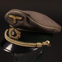 General von Klinkerhoffen (Hilary Minster) visor cap