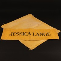 Jessica Lange (Angelique) production chair back
