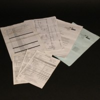 Production used paperwork collection