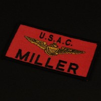 Captain Miller (Laurence Fishburne) name patch