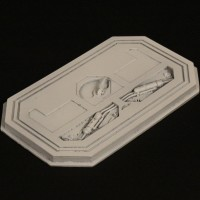 Airlock door miniature
