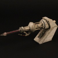 Space station laser filming miniature