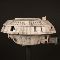 Space station shuttle docking bay 6 miniature