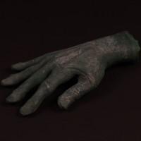 Alien creature hand
