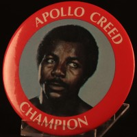 Apollo Creed (Carl Weathers) supporter badge