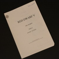 Peter Wragg personal OB script - Series V
