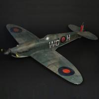 Spitfire filming miniature