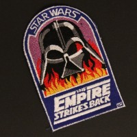 Vader in flames crew patch