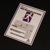 Atmos fire escape sign - The Sontaran Stratagem