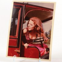 Emma Peel (Diana Rigg) studio transparency - Escape in Time