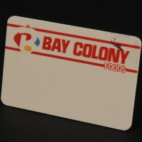 Bay Colony Foods name badge