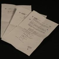 Giancarlo Esposito (Gustavo Fring) personal script pages - Green Light
