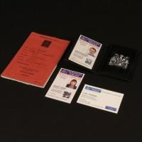DI Len Harper (David Threlfall) identification wallet & notebook