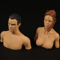 James Bond & Christmas Jones maquette busts