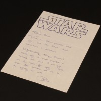 Handwritten production note