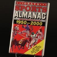 Oh LaLa magazine & Grays Sports Almanac dust jacket