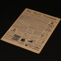 Hill Valley Telegraph newspaper