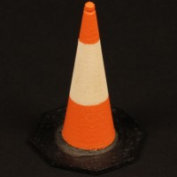 Traffic cone miniature