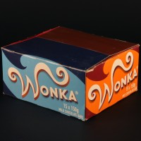 Wonka bar box