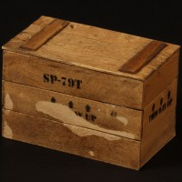 Miniature crate