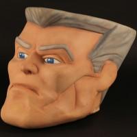 Chip Hazard costume head
