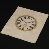 The Clock King (Walter Slezak) clock patch