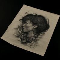 David (Michael Fassbender) drawing