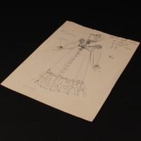 Matilda Crawley (Barbara Couper) costume design artwork