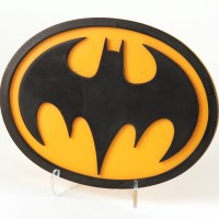 Batman (Michael Keaton) chest emblem