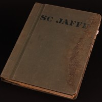 S.C Jaffe personal production script & binder