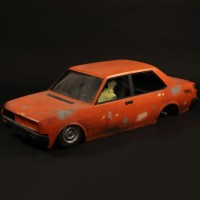 Fiat 131 model miniature car