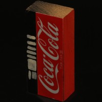 Coca Cola vending machine miniature