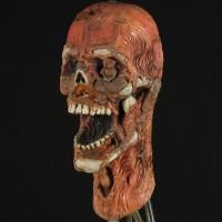 Kane (Edward Peel) visual effects skull - Dragonfire
