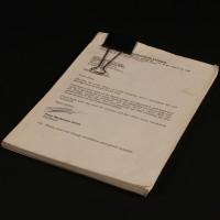 John Nathan-Turner personal unproduced screenplay