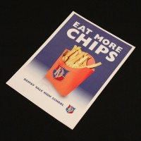 Eat more chips poster - School Reunion