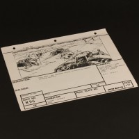 Brian Johnson personal storyboard - Speeders attack
