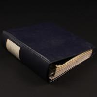 Brian Johnson personal storyboard binder