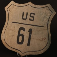 Route 61 road sign