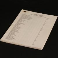 Final unit list directory
