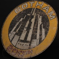Gotham City 200th anniversary sign