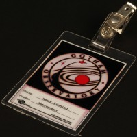 Gotham Observatory identification badge