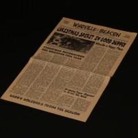 Whoville Beacon newspaper cover