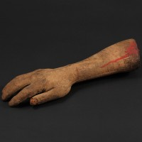 Professor Zimmer (Clifford Evans) special effects arm